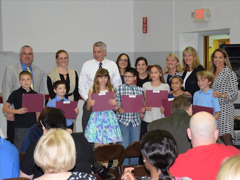 Board Celebrates Science Winners at JFK and RCK image