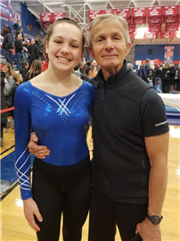 Gymnast Bergin Outstanding at States