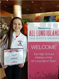Bergin Named All-Long Island