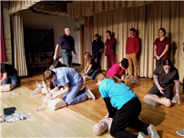 Anatomy Students Get Certified in CPR 3