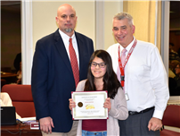 Freshman Norton Honored by Board for Make-A-Wish Effort thumbnail164647