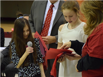 Pair of Students Awarded for Red Ribbon Wins 2