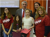 Pair of Students Awarded for Red Ribbon Wins 1