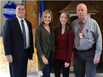 Chamber Honors December's Students of the Month