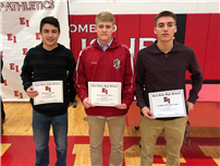 High School Recognizes Fall Athletes