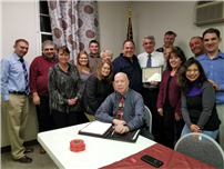 School District Named East Islip Business of the Month