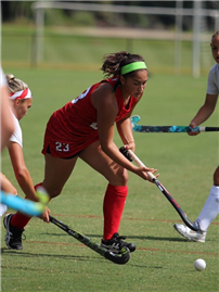 Alumna Perrone Stars for Belmont Abbey Field Hockey  2