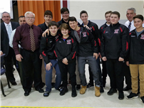 Champion Bowlers Honored by Board