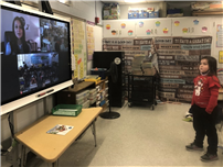 Author Pays Virtual Visit to Connetquot Second Graders thumbnail179115