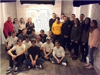 HS Tech Students Explore MTV Studios in NYC