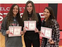 Winter Athletes Honored at HS thumbnail117997