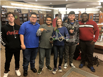 Teamwork Leads to Robotics Tournament Victory