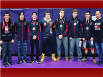 Redmen Wrestlers Take Six Spots at McDonald Tournament