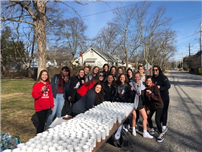 Girls Lax Teams Volunteer for Autism Fundraiser