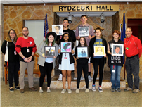Excellent EI Students Selected for 12x12 Art Exhibition