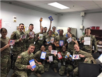 RCK Girl Scouts Send Cards and Cookies to Troops 3