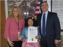 Seventh-Grader Lloyd Recognized for Down Syndrome Advocacy 1