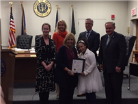 Seventh-Grader Lloyd Recognized for Down Syndrome Advocacy 3