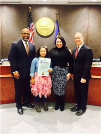 Seventh-Grader Lloyd Recognized for Down Syndrome Advocacy 2