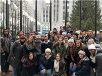 High School English Students Visit NYC 1
