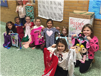 Timber Point Second-Graders Collect 153 Pairs for Pajama Program
