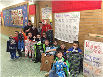 Timber Point Second-Graders Collect 153 Pairs for Pajama Program 2