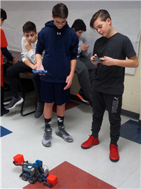 New MS Robotics Program Showcased